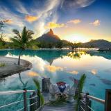 Гарний острів Бора-Бора