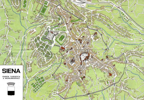Мапа Сієни