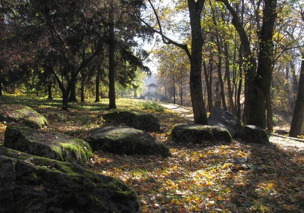 Парк Олександрія. Ландшафти