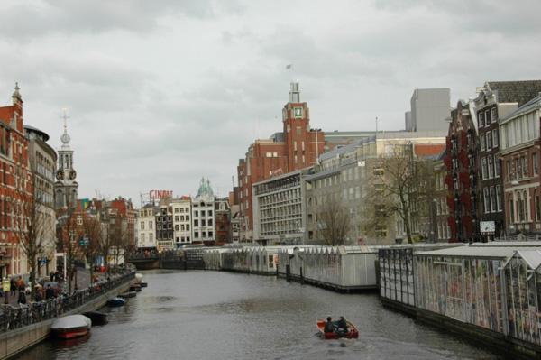 Квітковий ринок на воді