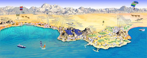 Карта Хургади