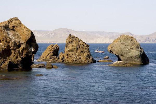 Скелі Карадагу