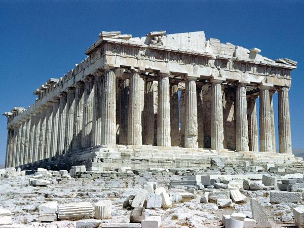 Парфенон. Афіни. Греція