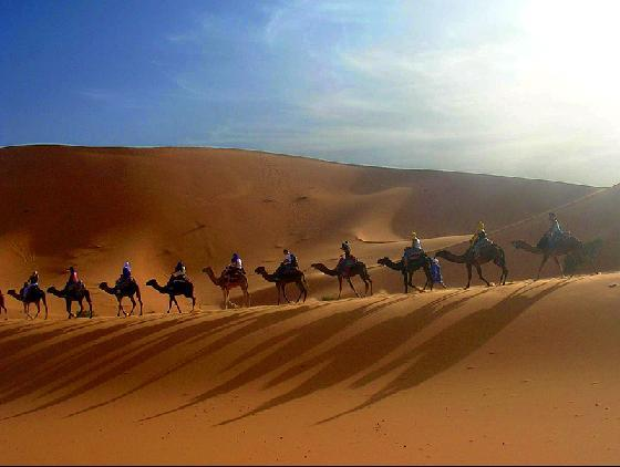 Пустеля в Тунісі