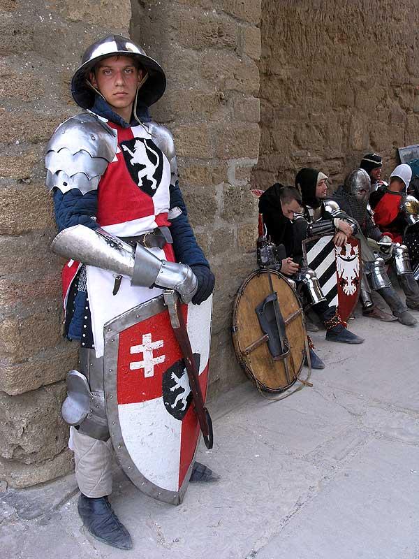 Рыцари в Судаке