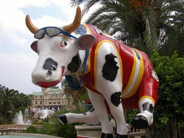 Корова в Монако