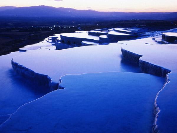 термальні джерела Памуккале, Турція