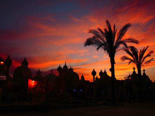 Шарм-Ель-Шейх. Захід сонця