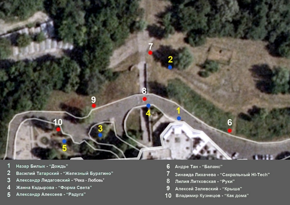 Kiev Fashion Park карта
