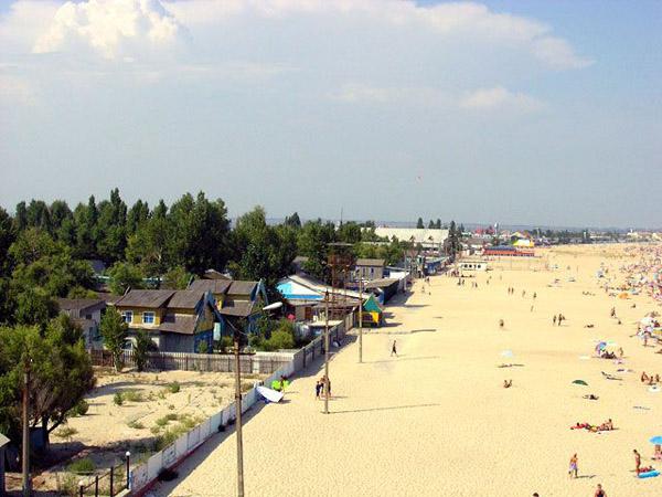 Пляж Затоки