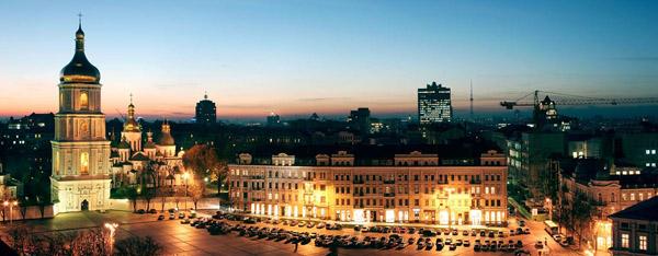 Київ ввечері