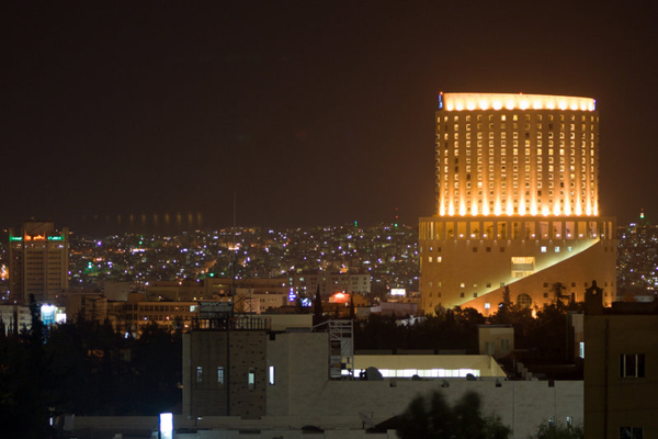 Амман вночі