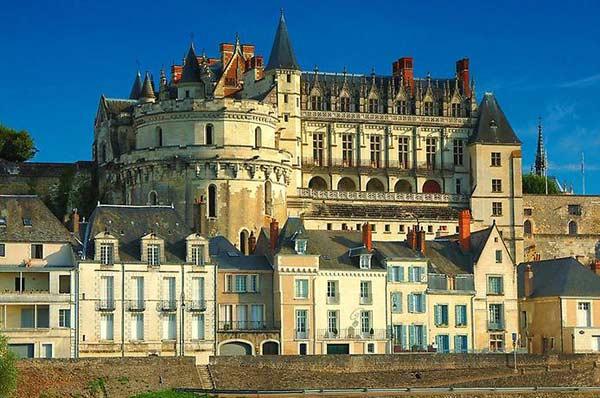 Замок у Франції Амбуаз