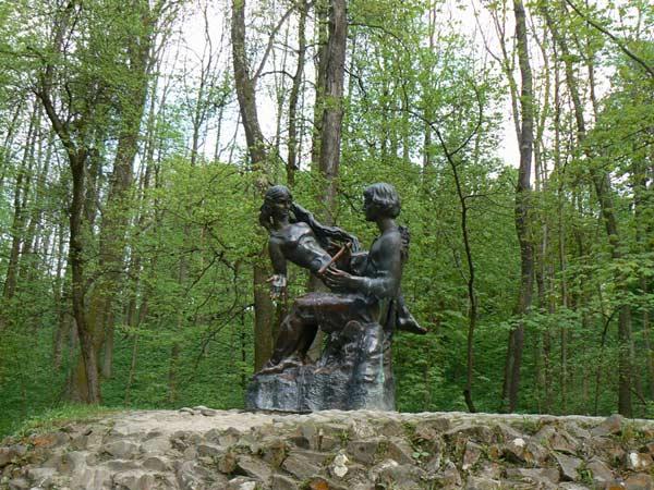 Статуї в Трускавці