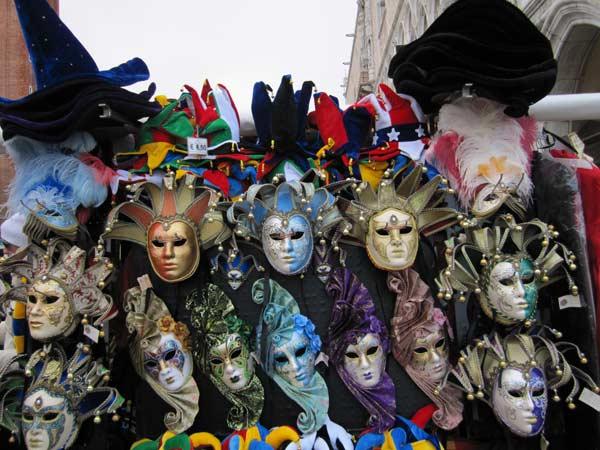 Карнавальні маски з Венеції