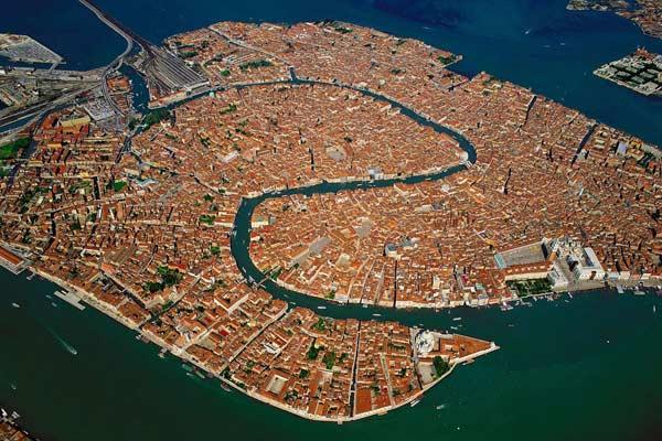 Вид на Венецію з повітря