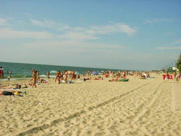 Пляж в Затоці