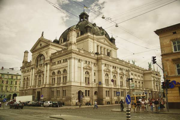 Оперний театр у Львові