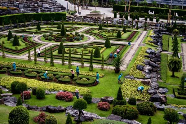 французький сад