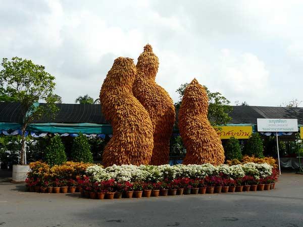 Скульптури з кукурудзи