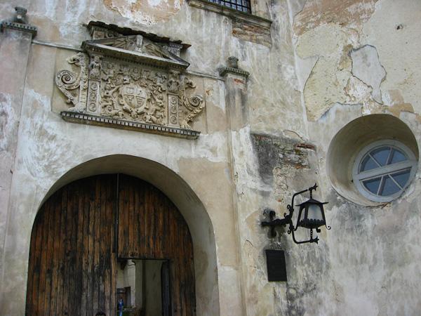 Ворота в Олеський замок