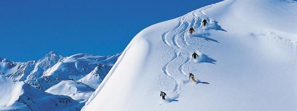 Гірськолижний курорт Сант-Антон в Австрії