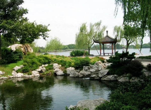 Озеро Сіху, маленька заводь