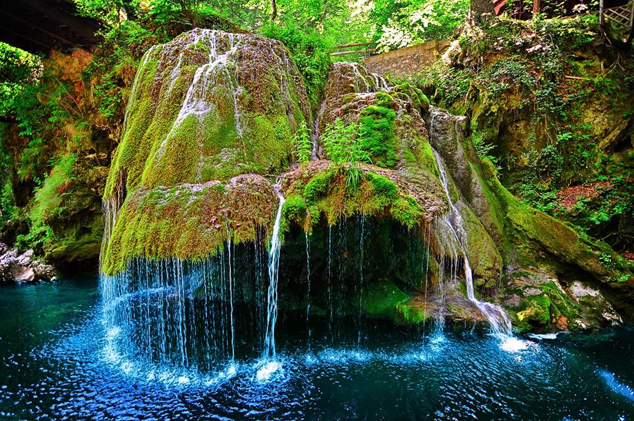 Водоспад Бігар, Румунія