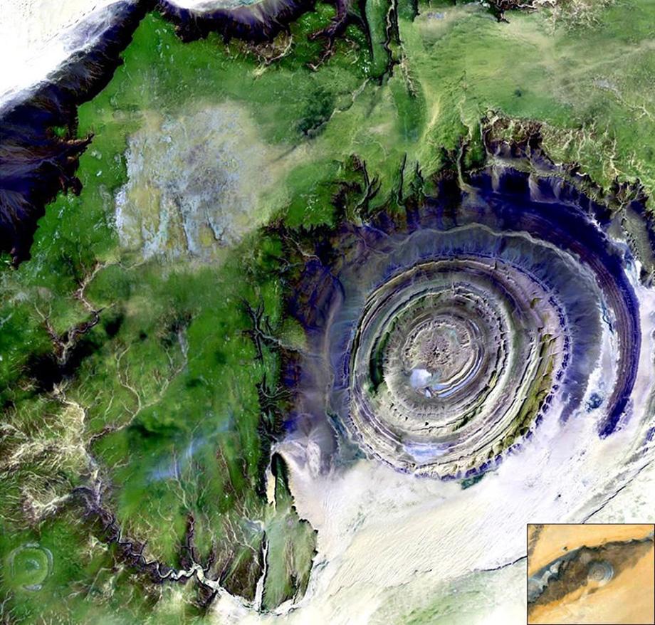 Око Африки, Мавританія