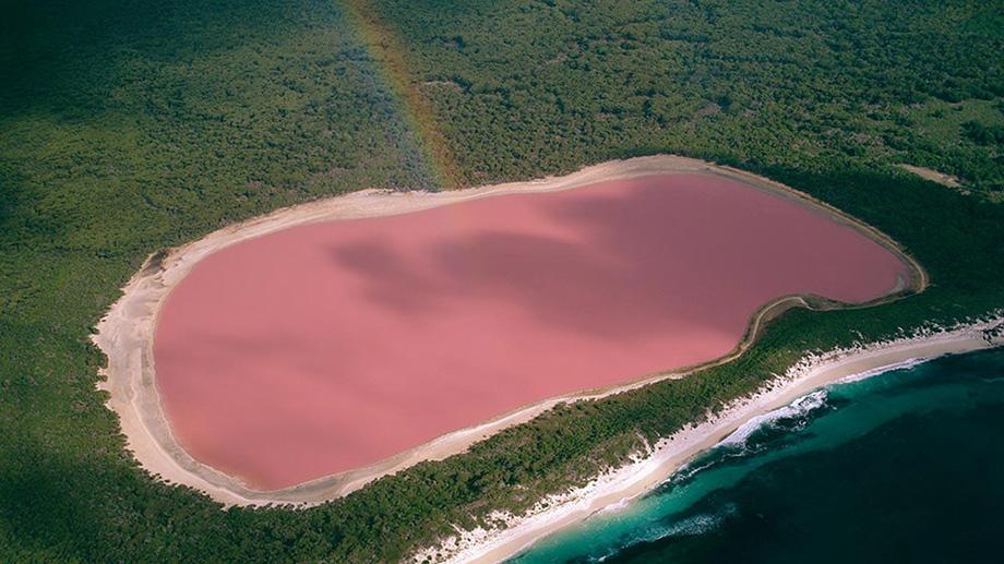 Рожеве Озеро Хіллер, Австралія