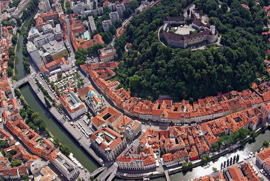 Замок в Любляні