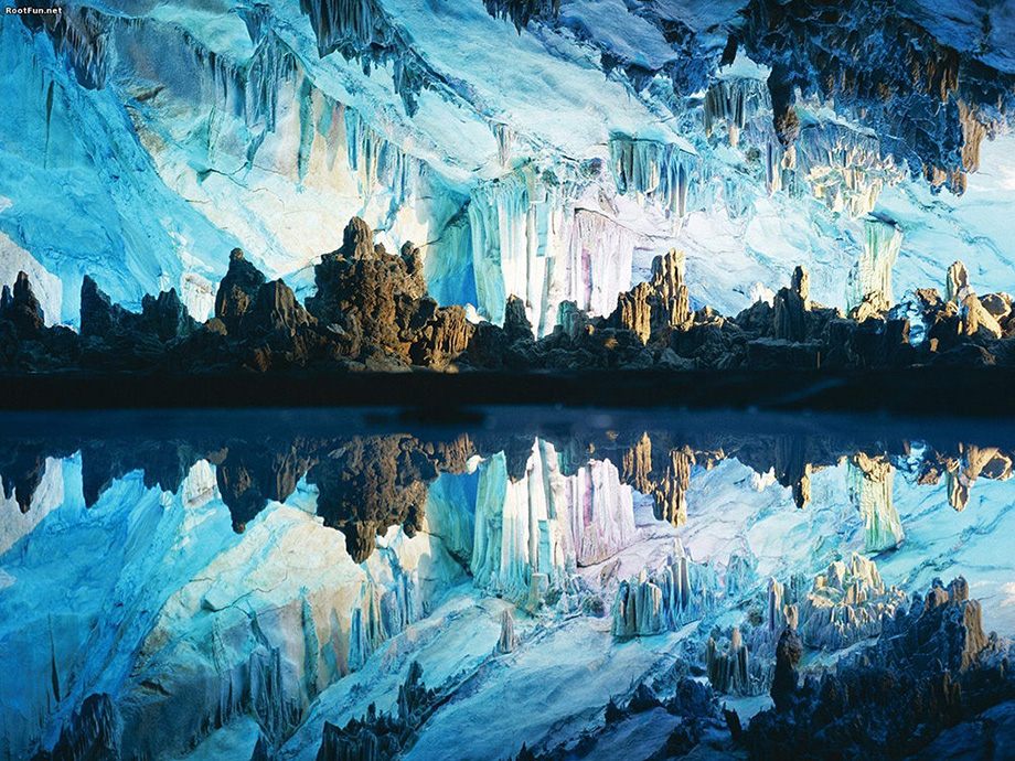 Печера Очеретяної  флейти, Китай