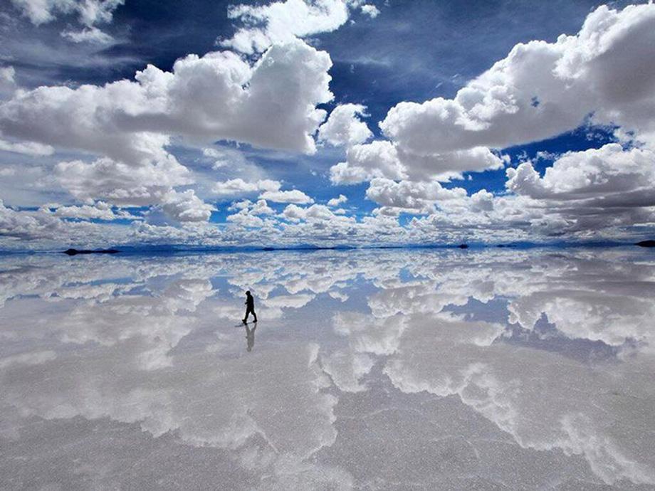 Озеро-солончак Уюні, Болівія