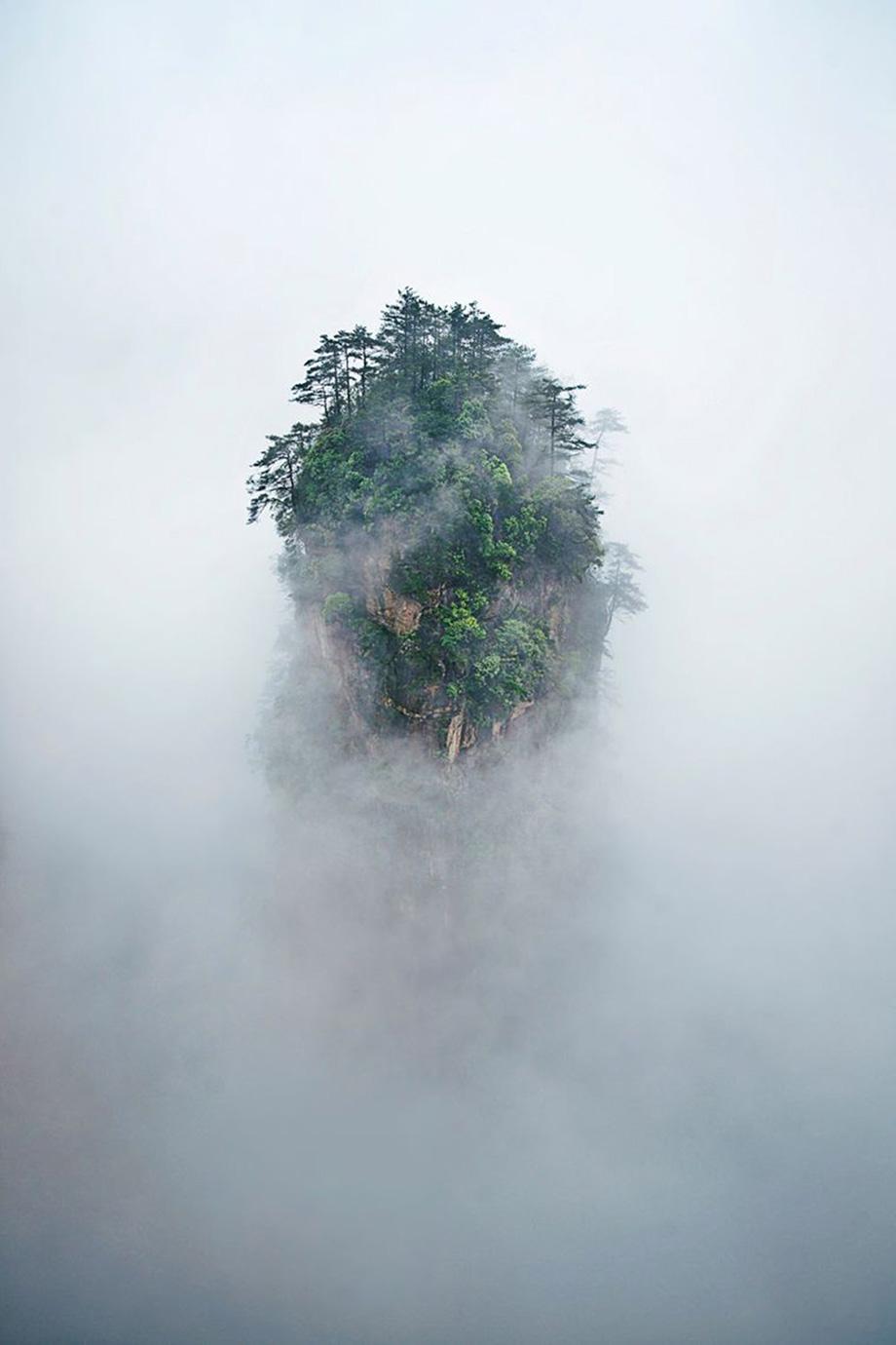 Гори Тяньцзи, Китай