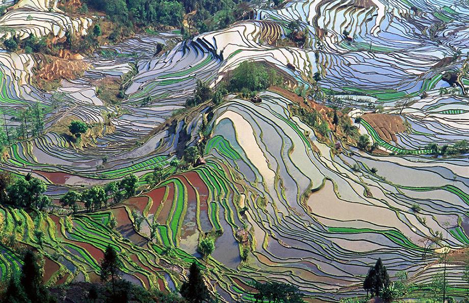 Гори Юаньян, Китай