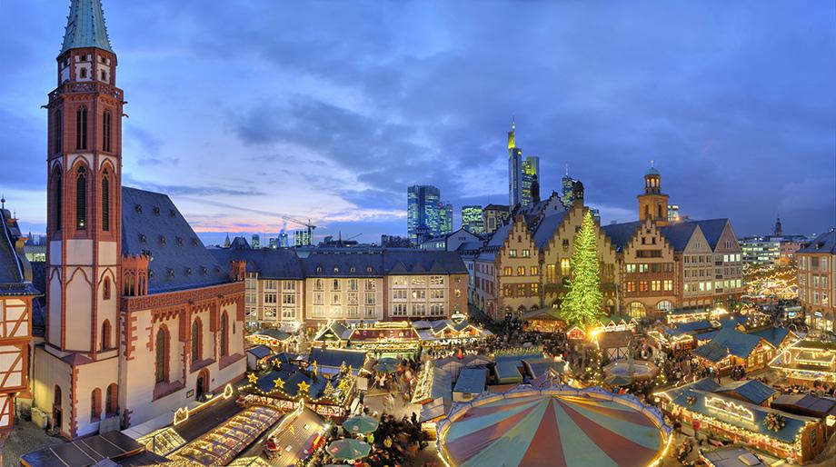 Головна площа Франкфурту на Різдво