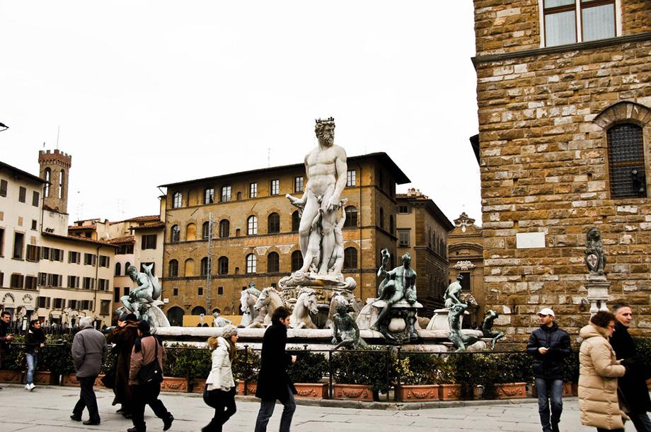 площа Синьйорії, Флоренція