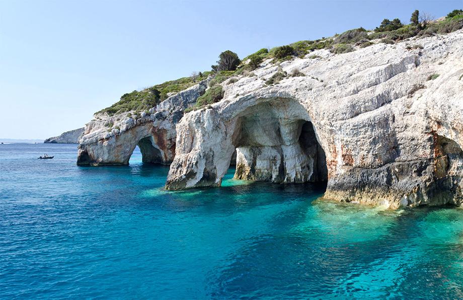 Блакитні печери Закінф