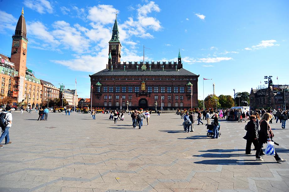 Ратушна площа в Копенгагені