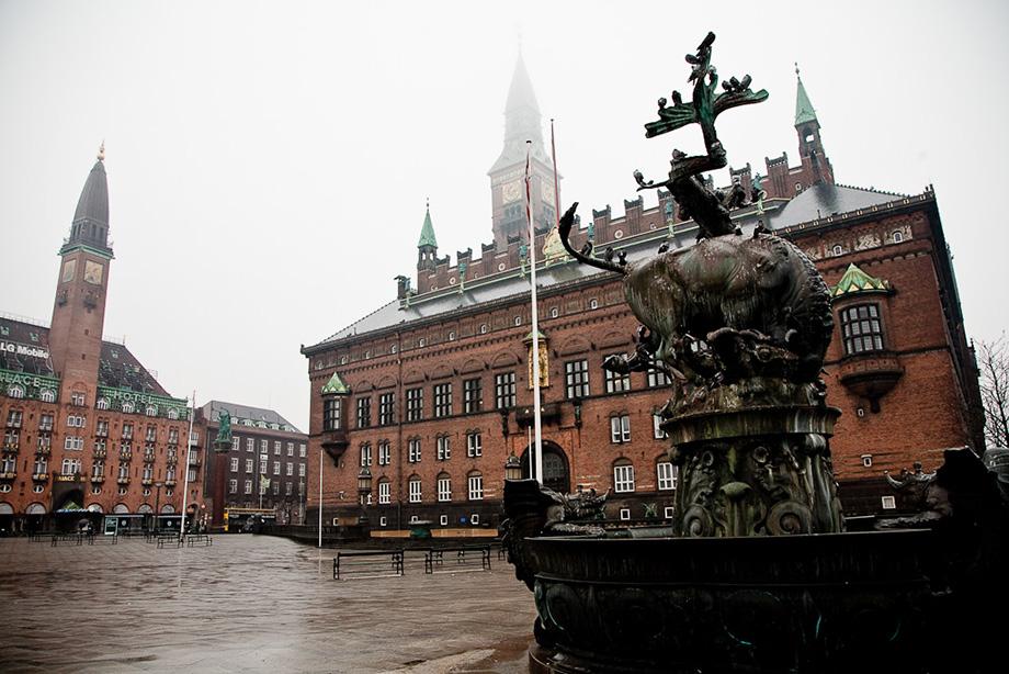 фонтан на Ратушній площі
