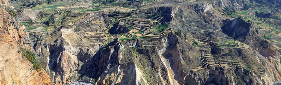 Каньйон Колка, Перу