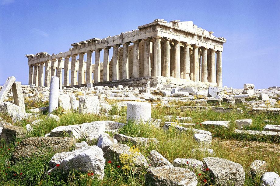 Парфенон на вершині Акрополя