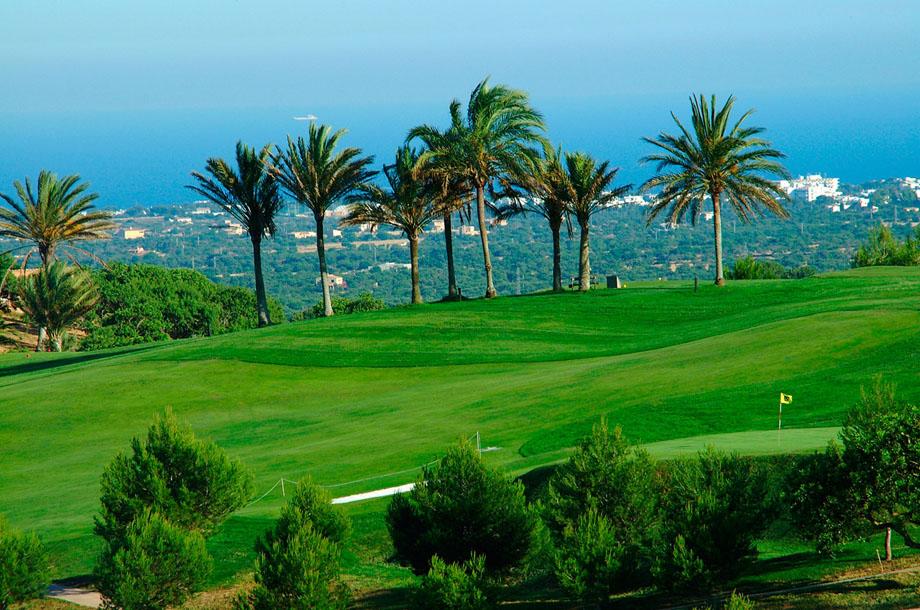 поле для гольфу на Майорці