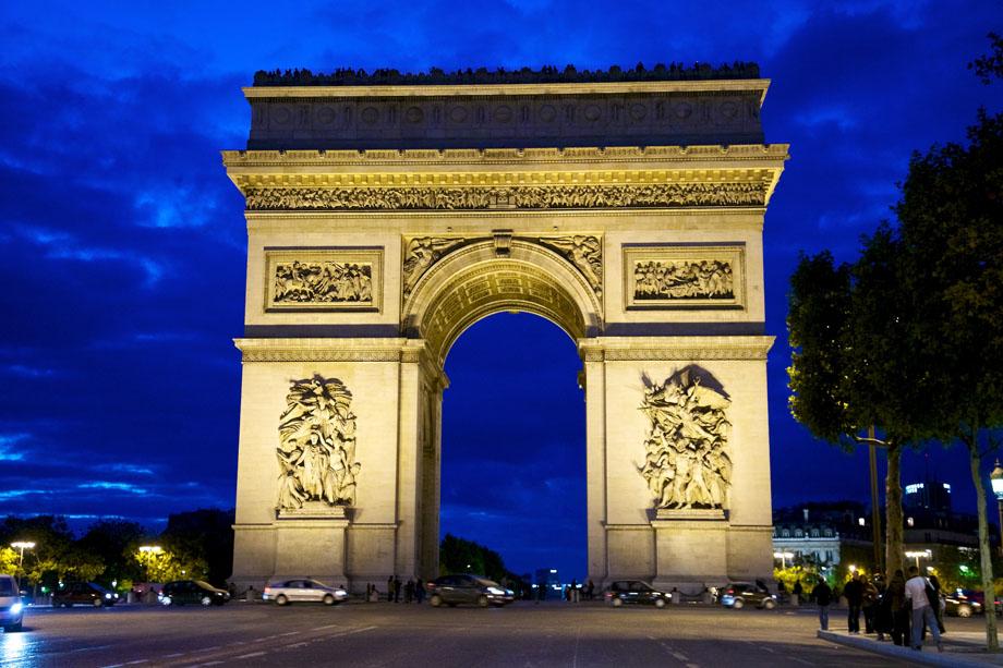 Тріумфальна арка,Париж