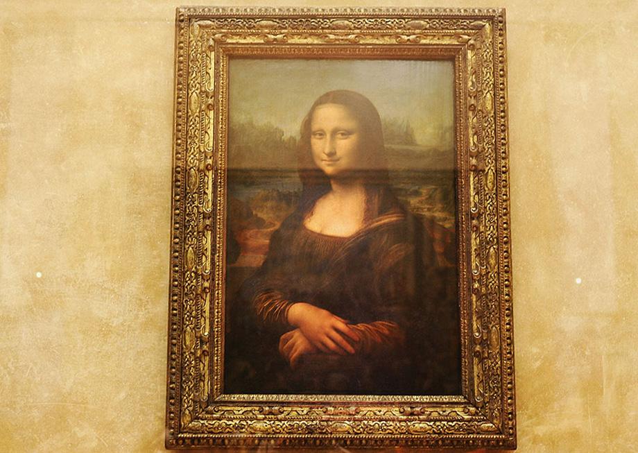 Мона Ліза, Париж