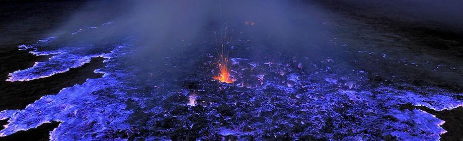 Синя лава, Індтонезія