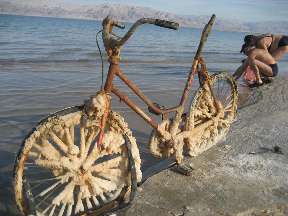соляні відкладення Мертвого моря
