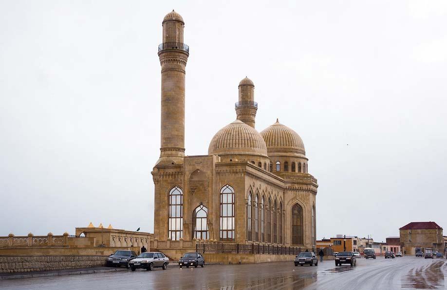 Вид на мечеть Бібі-Ейбат