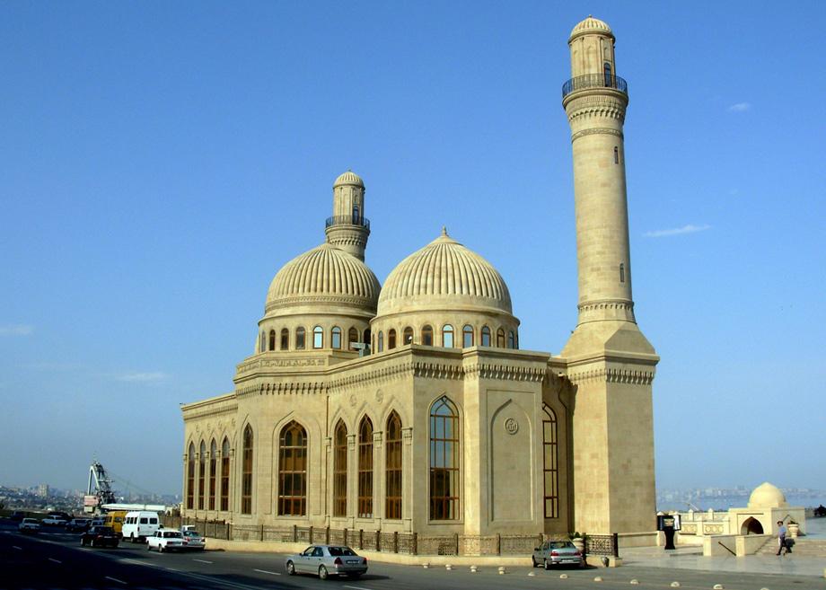Мечеть вдень