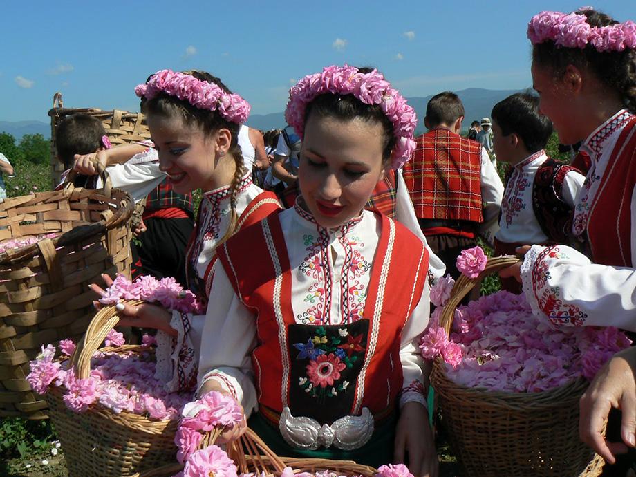 Фетиваль Троянд в Болгарії